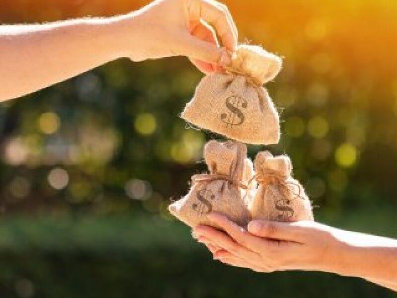 Schenking geld